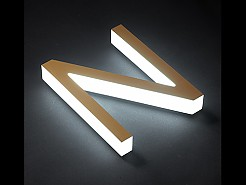 LED채널간판-측면발광 아크릴채널사인(스트레이트방식)