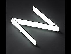LED채널간판-측면발광 아크릴채널사인(테이퍼컷)